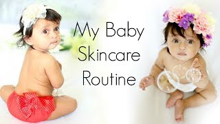 Stalk me - https://goo.gl/1gmCTAWe always take best care of our baby but sometimes its difficult to find the right products for our little ones so in this video I have shared 'My Baby Skincare Routine' that has really worked well for Ana.Don't forget to LIKE, SHARE & COMMENT!!PRODUCTS SHOWN IN THE VIDEO:---------------------------------------------------------Chicco Rich Cream - 100 mlhttps://goo.gl/2anJKoSebamed Baby wash extra soft 200mlhttp://amzn.to/2twcQKgChicco Natural Sensation No Tears Shampoo - 300 mlhttps://goo.gl/d6nek2Chicco Natural Sensation Body Lotion - 500 mlhttps://goo.gl/a3CeFUChicco Triple Protection Sun Cream For sensitive Skin 75mlhttp://amzn.to/2st6zRlSebamed Baby diaper rash cream Ph 5.5 Health Skinhttp://amzn.to/2tQUQcSBabyhug Premium Baby Wipes - 80 Pieceshttps://goo.gl/pTvE1LPampers Large Size Diaper Pants (48 Count)http://amzn.to/2stgupGPampers Premium Care Medium Size Diaper Pants (42 Count)http://amzn.to/2tQDoW0MORE AWESOME VLOG--------------------------------------Something Special Just Happened?https://youtu.be/sBDuntsdDMcA Day In My Life - Who is the Lucky Winner?https://youtu.be/sBDuntsdDMcThe Whisper Challenge - Gone Wrong?https://youtu.be/OZzarSc9wKoGood Bye DUBAI... I'll Be Back Soonhttps://www.youtube.com/watch?v=Og106WmMZx4DUBAI Continues ... Meet & Greet, Glow Garden & lot morehttps://youtu.be/ubChMPm-5CcWelcome To DUBAI ...  ShrutiArjunAnandhttps://youtu.be/NlPDQOkP0tMA Million Dollar Smile...  ShrutiArjunAnandhttps://youtu.be/XKyU010Tah0OMG! It's Unbelievable ....#ShrutiVlogshttps://youtu.be/pY4IvLC276YWoh Kaun Thi?https://www.youtube.com/watch?v=oxOgupD2FIQHow To Get Pregnant?https://youtu.be/PO9d-bOR0g4ShrutiArjunAnand @ YouTube FanFest India 2017https://youtu.be/bpmghViw2MgLets Play Holi! A Day In My Lifehttps://youtu.be/udqbhNuA1LAMy Wedding Album #Reactionhttps://youtu.be/l44VwENoVLUThe Valentine Day Wedding - A Day In My Lifehttps://youtu.be/DU5Db1C_BIoMy Cousin's MEHNDI & SANGEET - A Day In My Life https://youtu.be/w2Y