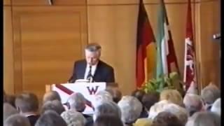 """Jubilarfeier amlässlich """"100 Jahre Ruder-Club Witten"""" im Wittener Rathaus am 5. September 1992"""