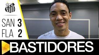QUE DIA, QUE JOGO, MEUS AMIGOS! Mais uma vez, um grande jogo entre Santos e Flamengo! Confira os Bastidores da vitória...