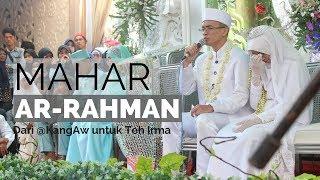 Video MASYA ALLAH !! MAHAR AR-RAHMAN, RATUSAN TAMU YANG HADIR IKUT TERHENYAK MP3, 3GP, MP4, WEBM, AVI, FLV November 2018