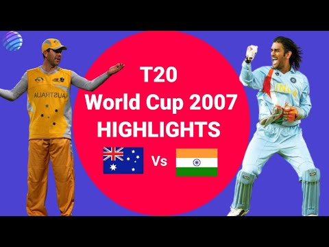 India Vs Australia T20 World Cup 2007 Semi-Final || Thrilling Match Highlights