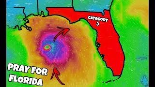 BIGGEST HURRICANE OF THE YEAR IS HEADED FOR FLORIDA!!! (Hurricane Michael Update) | JOOGSQUAD PPJT