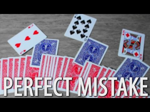 Perfect Mistake — MAGIC CARD TRICK TUTORIAL
