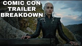 Another Game of Thrones Season 7 Trailer was just released at Comic Con that shows several new scenes from Game of ...