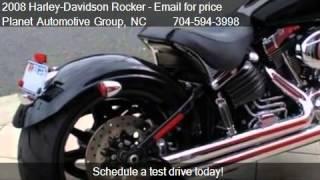 7. 2008 Harley-Davidson Rocker C - for sale in Charlotte, NC 28