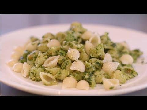 Video - Aprende a preparar conchitas al Pesto Genovese
