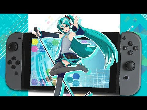 HATSUNE MIKU IS ACTUALLY ON SWITCH!