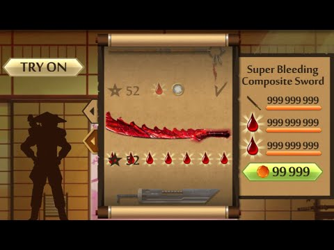 Shadow Fight 2 The Most Powerful Super Bleeding Composite Sword