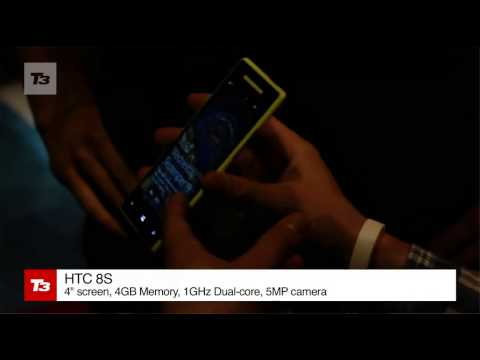 HTC has announced its first set of handsets to come loaded with the new Windows OS, here's video preview of the pair.