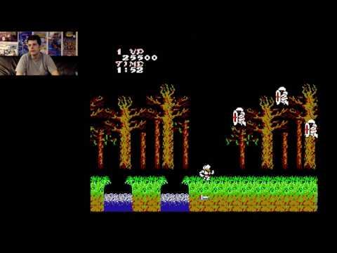 Ghosts 'n Goblins (NES) Full Playthrough \