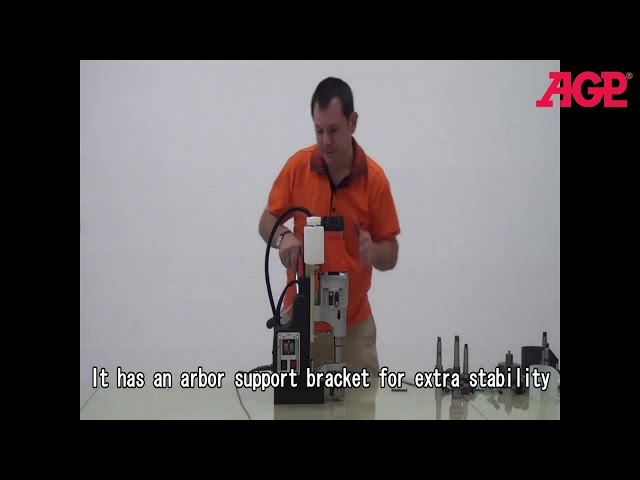AGP MD750/4 Four Speed Magnetic Core Drill – Introduction & Operation