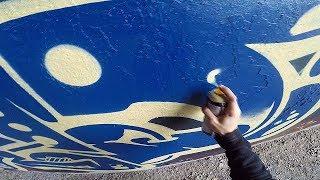 Graffiti - Rake43 - Painting Morning