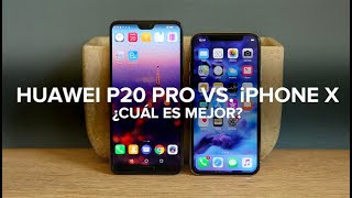 Comparativa: Huawei P20 Pro contra iPhone X