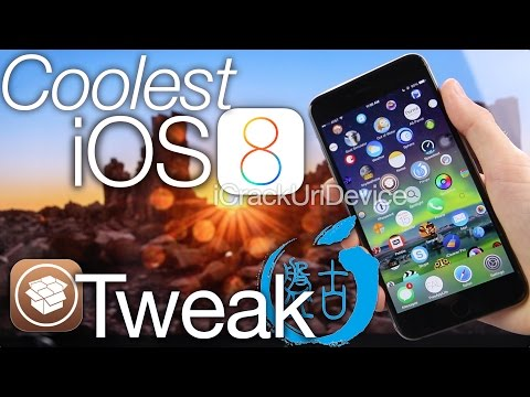 Coolest Cydia Tweak iOS 8.1 Jailbreak iOS 8 Pangu Best Tweaks, Apple Watch Apps iPhone 6 Plus & iPad