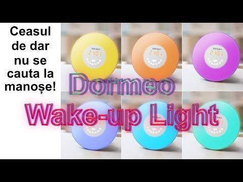 Ceas Multifunctional Dormeo Wake up Light - Ceasul de dar nu se cauta la manose