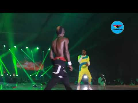 Patapaa, Article Wan Perform 'That Thing' At Ghana Meets Naija 2018