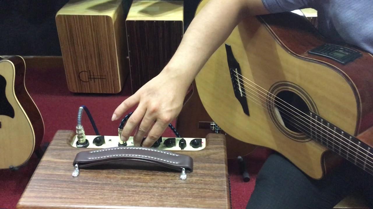 Test Ampli Guitar Acoustic