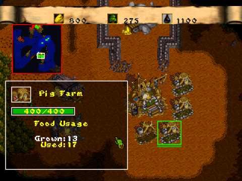 warcraft ii - dark saga sega saturn rom