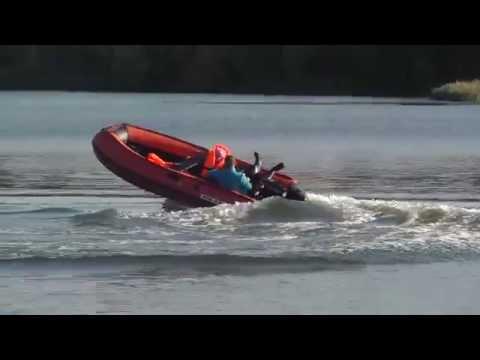 лодка солар 380 jet видео