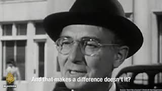 In 1943, the US War Department released this video to tell Americans not to fall for fascist rhetoric.These words should always be remembered, lest we repeat the mistakes of history. Next time It may not be Germany, next time it may not be Jews, next time, it could be you.