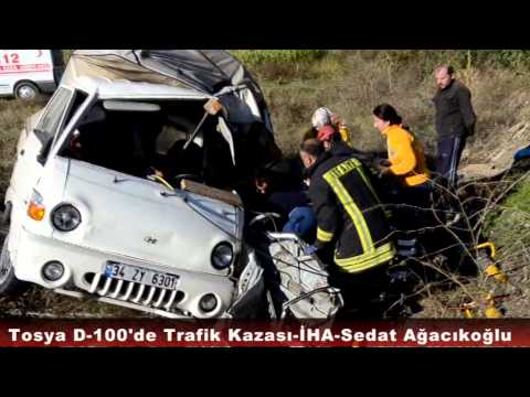 Tosya D100 Kurban Bayramı Trafik Kazası
