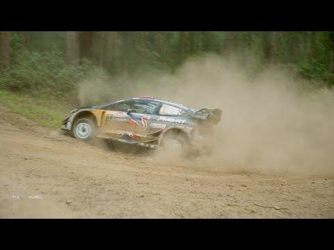 WRC 2017 - DJI Aerial Clip: Kennards Hire Rally Australia