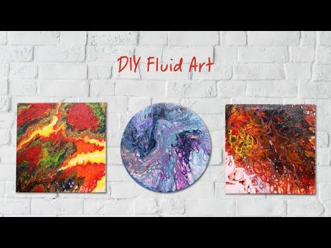 DIY Fluid Art