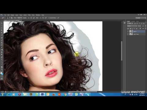 Kỹ thuật tách tóc trong Photoshop