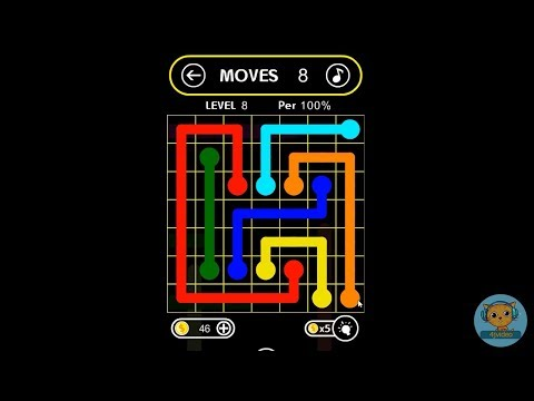 Flow Free Online Free Mobile Game HTML5 Puzzle Casual Games For Kids - 4jvideo