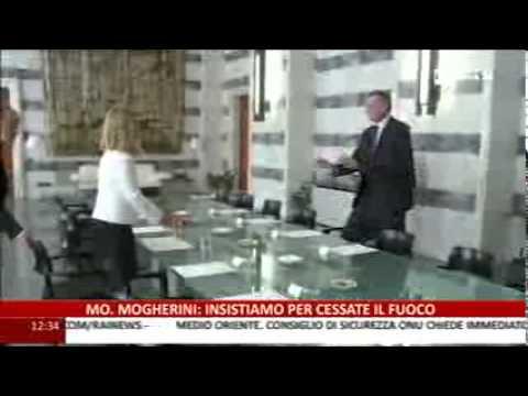 Rai news  - Crisi in Medioriente, intervento del ministro Federica Mogherini