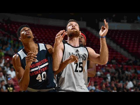 Full Highlights: Washington Wizards vs Minnesota Timberwolves , MGM Resorts NBA Summer League