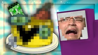 The most DISGUSTING cake in the world...►CaN wE GeT 6000 IIkey likES PleAse!Purple Shep decided it would be SUPER FUN to give Failboat a delightful little cake that he made. Little did Failboat know that that cake was actually something straight from the Nether.HaHA pLeASE TelL PurPLE SHep iF YOu WANT mORe coOky cOOk viDeo tHINGs►My Friends, Uncles, Fathers, Mothers, Friends: Daddy Pink Sheep: http://bit.ly/2226OKMTNT Mouse Man: http://bit.ly/1iihtuRUncle Failboot: http://bit.ly/2cnRuWr►Follow Purple Shep on Twitter: https://twitter.com/PurpleShepUtub►Credits:Music from http://www.epidemicsound.com/
