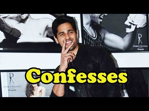 Sidharth Malhotra Confesses On His Favourite Bolly