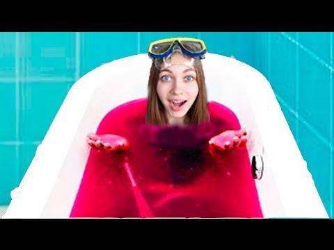 Как сделать ванну желе