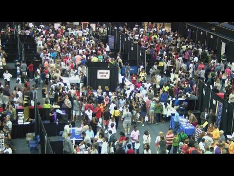 CSRA College night hosts over 100 colleges for students to choose from