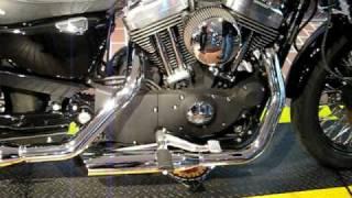 8. 2004 Harley-Davidson Sportster Roadster Black XL1200R