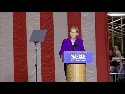Concern for Warren after polling slump