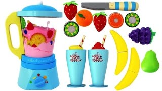Video Toy Blender Playset Learn Fruits & Vegetables with Wooden Velcro Toys for Kids MP3, 3GP, MP4, WEBM, AVI, FLV Mei 2017