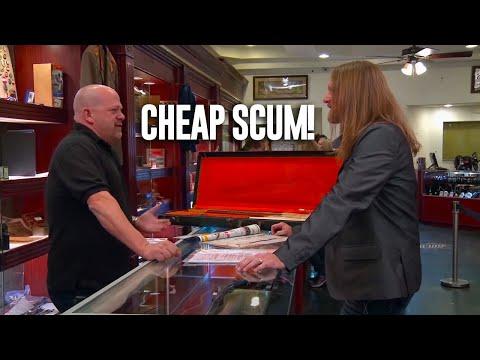 Pawn Stars Customers Who THREATENED RICK & CHUMLEE