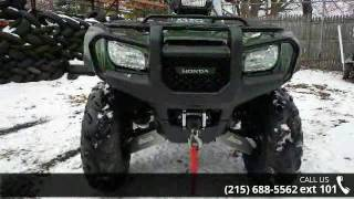 9. 2012 Honda FourTrax® Foreman® 4x4 Utility - East Coast ...