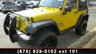 2. 2009 Jeep Wrangler -  - Roswell, GA 30076