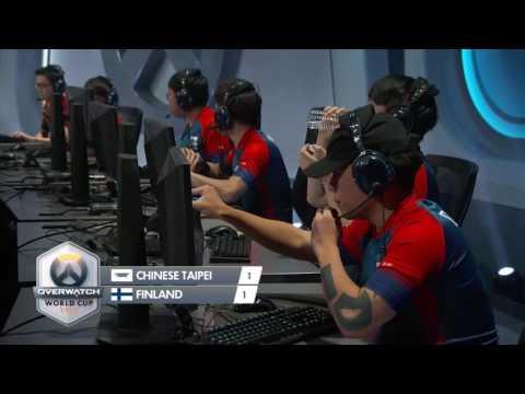 2016 鬥陣特攻世界賽 小組賽 中華台北 vs 芬蘭 Game3 灕江天塔