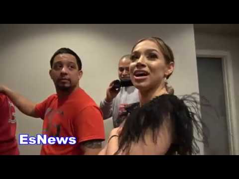 Family quotes - Danny Garcia & girlfriend Erika after rios fight EsNews Boxing