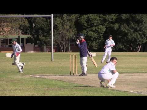 Junior School Cricket - Leo Luyt scoring 174 runs & taking 5 wickets
