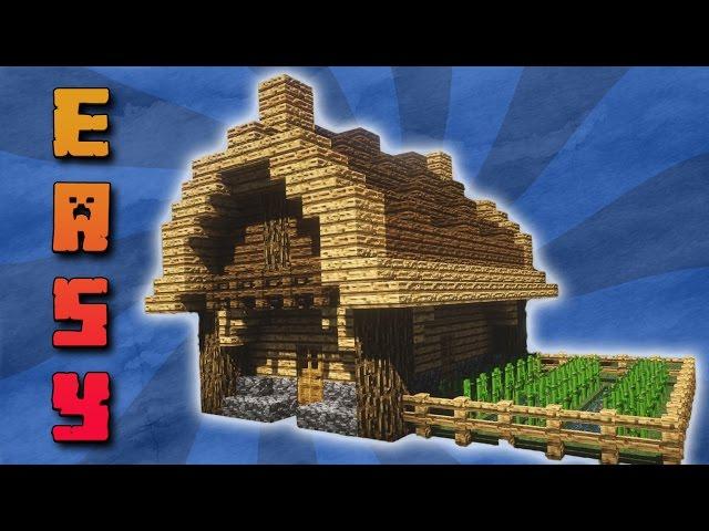 Minecraft kleines haus bauen mit download deutsch for Minecraft haus bauen modern deutsch