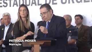 VÍDEO: Governador entrega equipamentos de saúde para o atendimento à população durante a Copa do Mundo