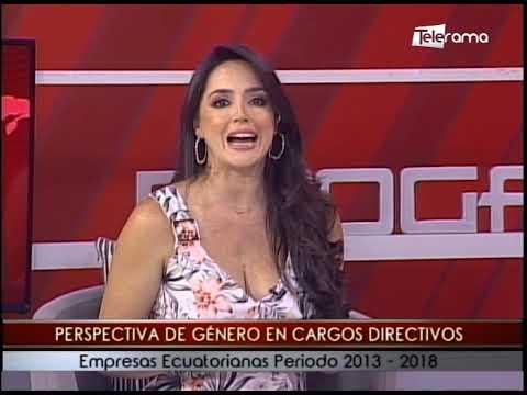 Perspectiva de género en cargos directivos empresas ecuatorianas periodo 2013-2018