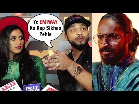 Raftaar On Emiway Bantai During Mtv Hustle Show Launch