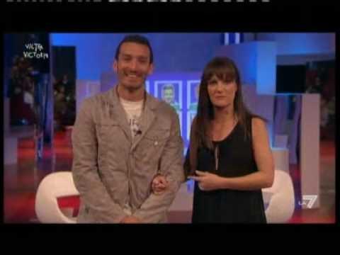 Zambrotta en un programa de televisión