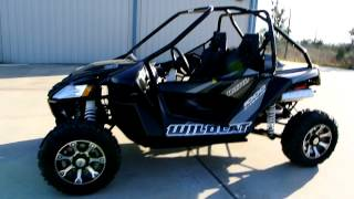 8. 2013 1/2 Arctic Cat Wildcat 1000 HO With Team Industries Clutch and Fox Shocks!
